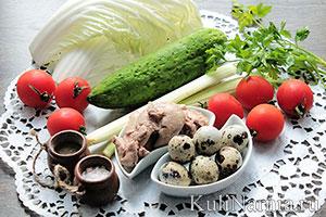 Салат из печени трески состав
