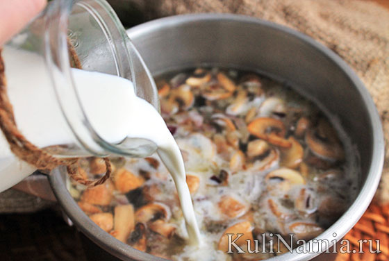 Суп из шампиньонов рецепт со сливками