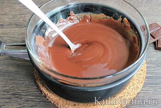 Глазурь для торта трухлявый пень