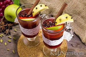 Глинтвейн безалкогольный в домашних условиях рецепт