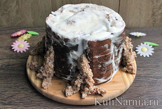 Торт трухлявый пень рецепт