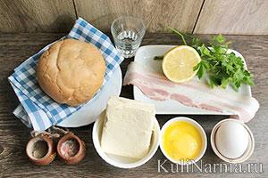 Яйца Бенедикт под соусом голландез состав