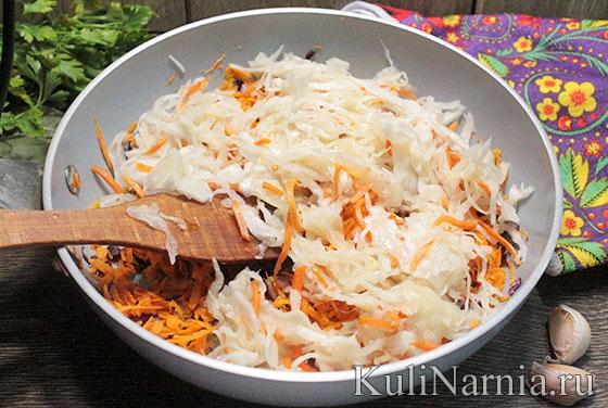 Как сварить борщ с квашеной капустой