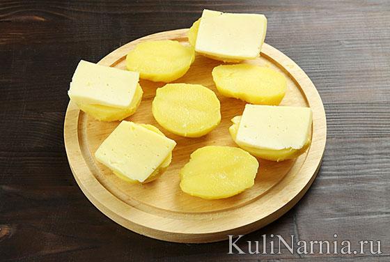 Картошка в духовке с беконом рецепт