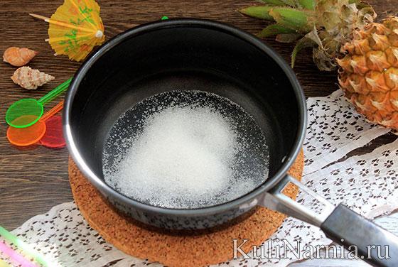 Коктейль пина колада рецепт