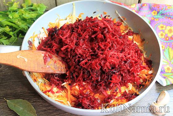 Рецепт борща с квашеной капустой