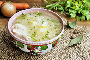 Куриный суп с рисом и картошкой рецепт