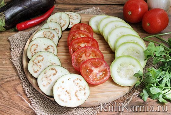 Овощной рататуй рецепт с фото пошагово