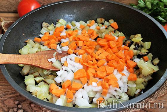 Рецепт приготовления кабачков и баклажанов в мультиварке