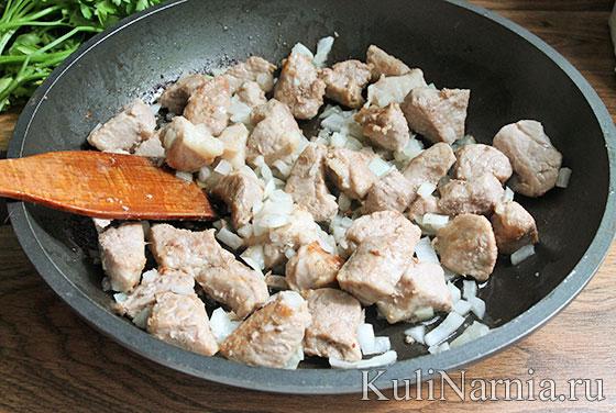 Тушеная свинина рецепт