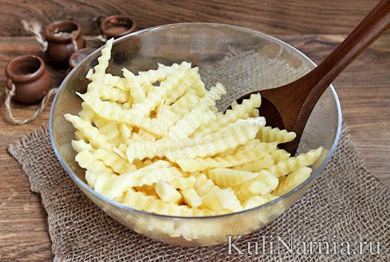 Как готовить картошку фри в домашних условиях