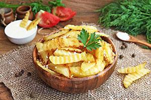 Как приготовить картошку фри в домашних условиях