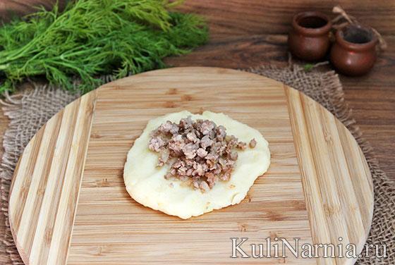 Как приготовить зразы картофельные с мясным фаршем