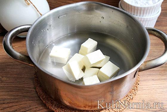Как сделать заварное тесто для эклеров