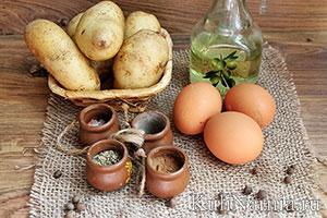 Картошка фри в духовке состав