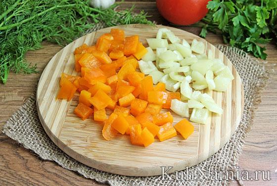 Овощное рагу с баклажанами рецепт