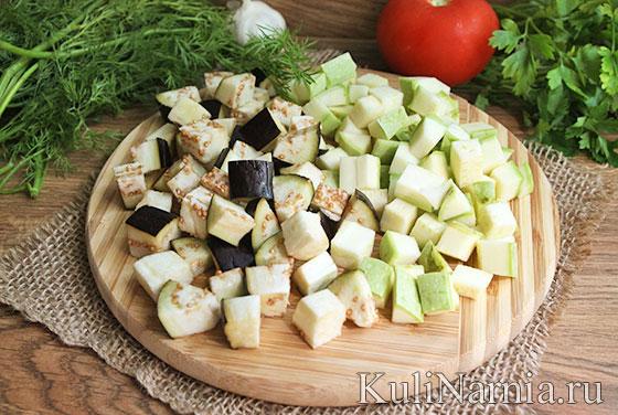 Овощное рагу с кабачками рецепт