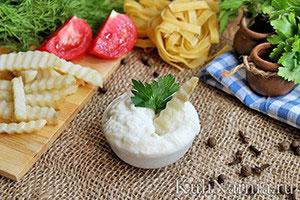 Сырный соус к макаронам рецепт с фото