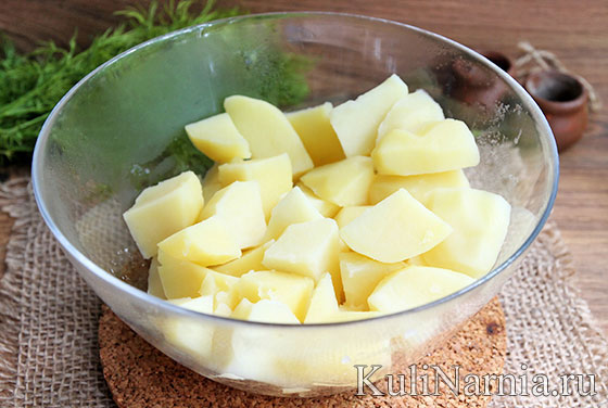 Зразы картофельные рецепт