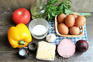Фриттата рецепт с овощами