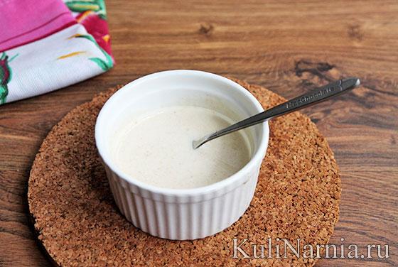 Молочный соус для сырников
