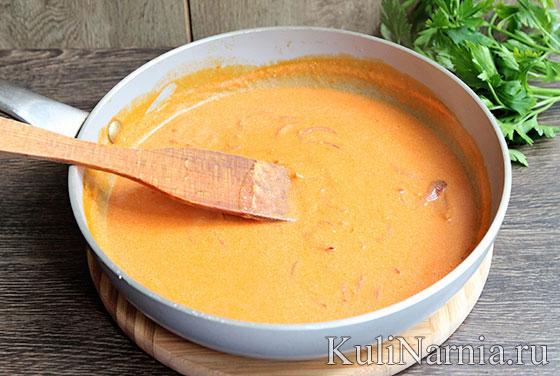 бефстроганов сметанном соусе рецепт фото