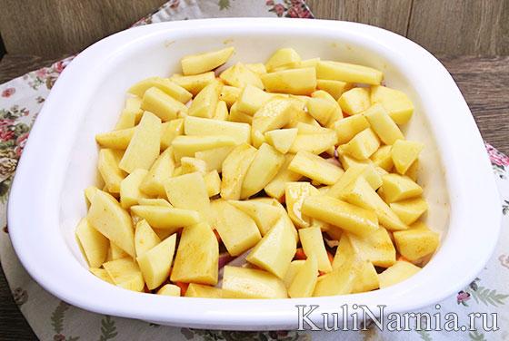 Говяжьи ребрышки с картошкой рецепт