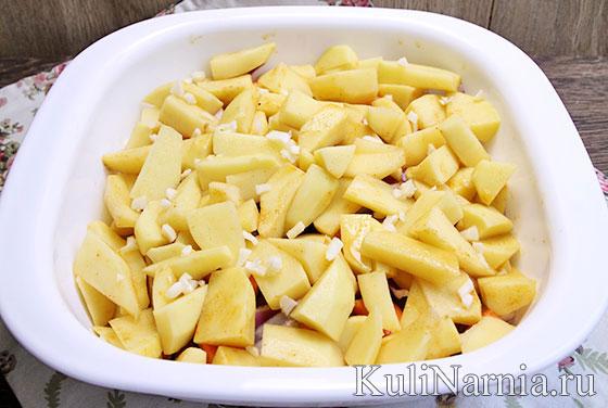 Говяжьи ребрышки с картошкой в духовке рецепт