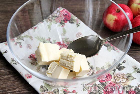 Тарт татен с яблоками рецепт с фото