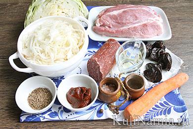 Бигус рецепт с капустой и свининой