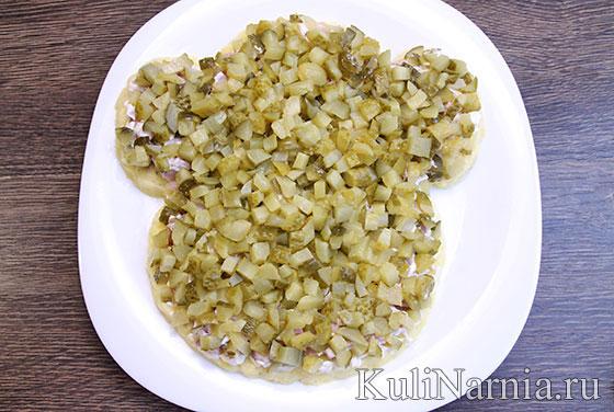 Как приготовить салат Обезьянка