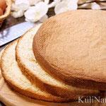 Классический рецепт пышного бисквита