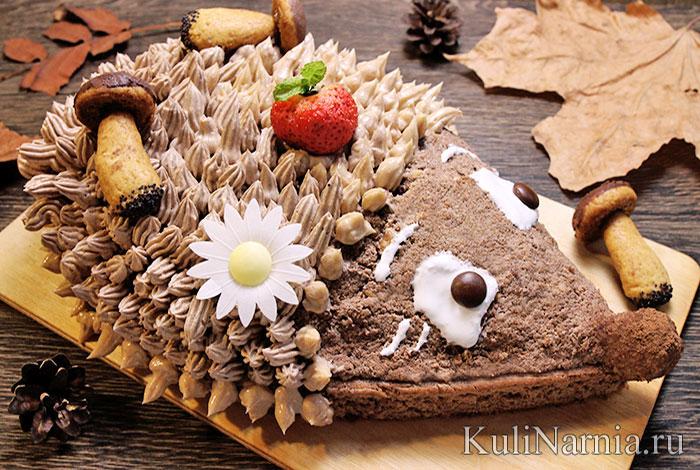 Торт Ежик рецепт с фото
