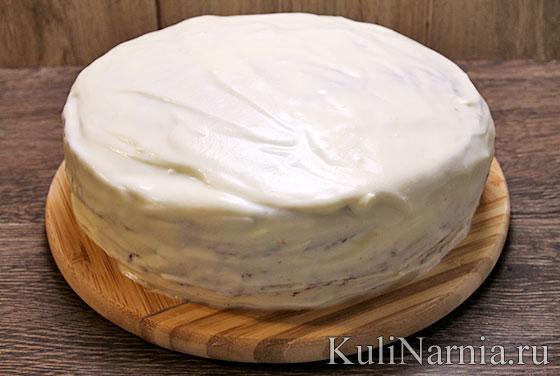 Торт фантазия на кефире