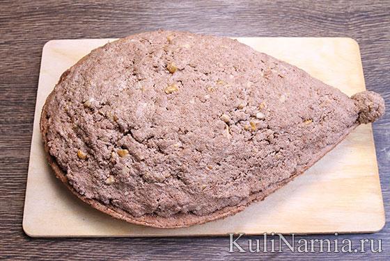 Торт в виде ежика рецепт