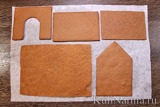 Как делать пряничный домик