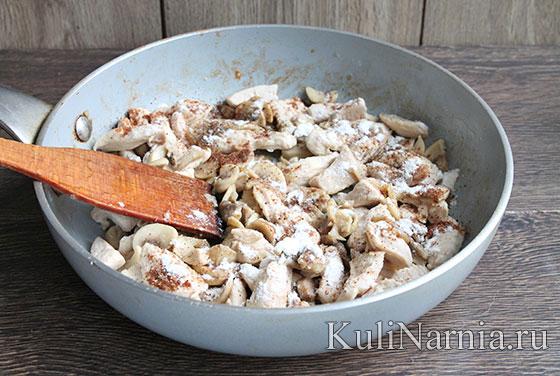 Как готовить фрикасе из курицы