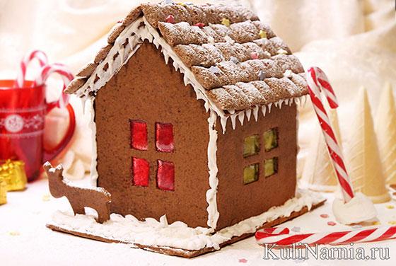 Как украсить пряничный домик