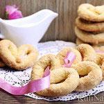 Песочное печенье на сметане и желтках