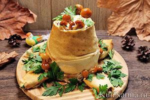 Салат Пенек рецепт с фото пошаговый
