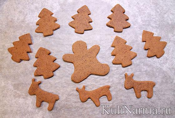 Тесто для пряничного домика печенье