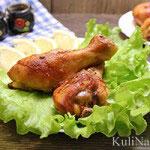Куриные ножки в медово-горчичном соусе в духовке