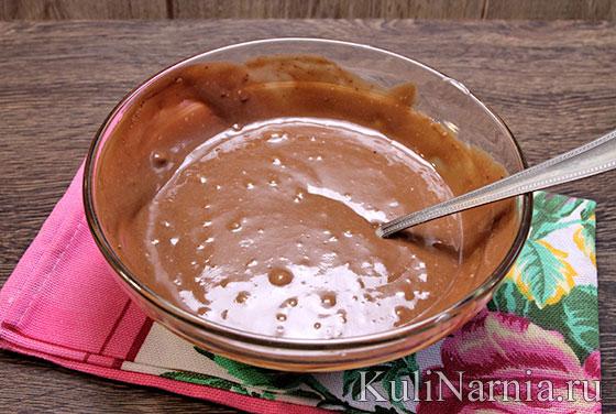 Пирог Зебра на кефире рецепт с фото пошагово