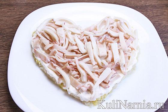 Салат Сердце ангела рецепт