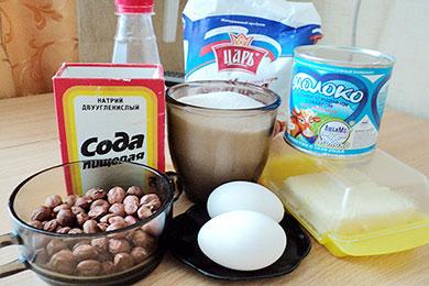 рецепт тортов с прослойкой из безе с фото
