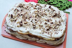 Торт с прослойкой безе рецепт с фото