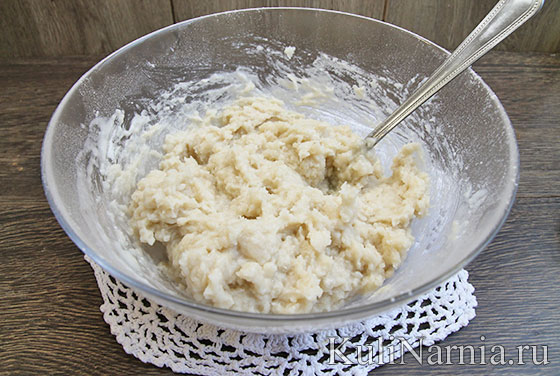Как сделать заварное тесто для вареников с вишней