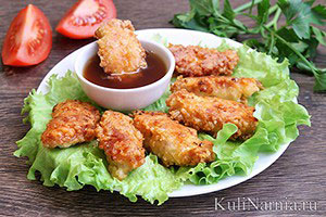 Куриные наггетсы рецепт в домашних условиях