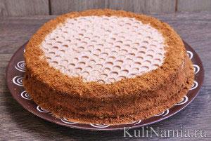 Медовый торт рецепт со сметаной пошаговый рецепт с со сметаной