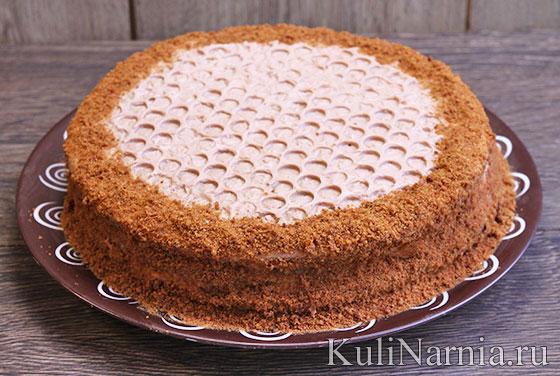 Медовый торт со сметаной рецепт с фото